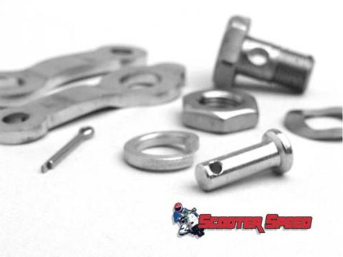 Lambretta Brake Pedal Cable Clamp Kit MRB (L8A-8014431)