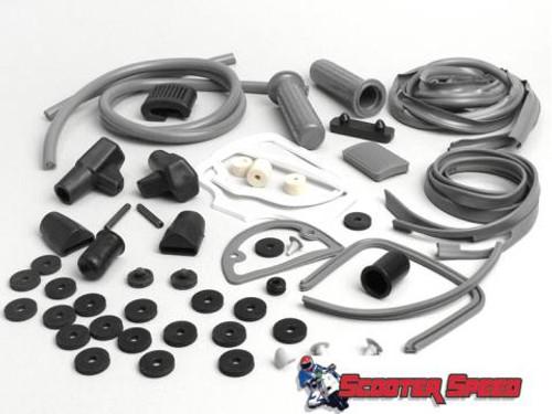 Lambretta Body Rubber Kit Casa - Grey Series 1/2 (66-KIT5/8013727)