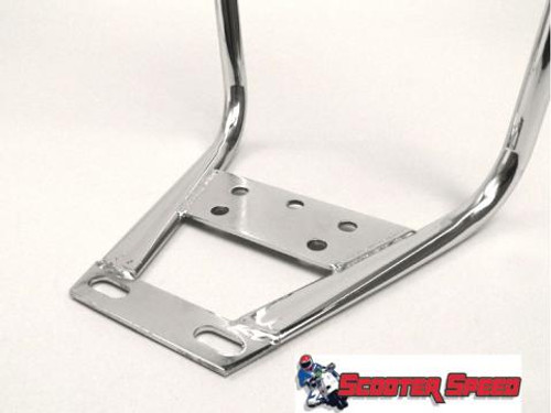 Cuppini Back Rest Vespa/Lambretta - Chrome (G0-25038000)