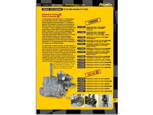 "Vespa Carburetor SI 26/26 ""ER"" Pinasco 26mm Non-Oil (DW-25294908)"