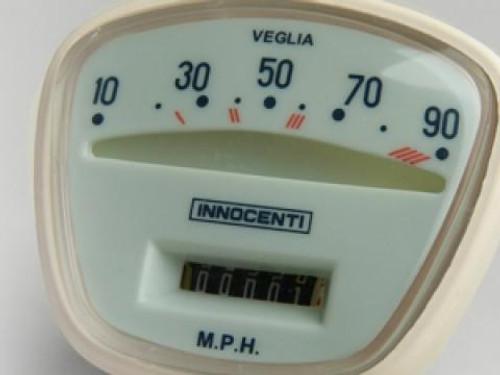 Lambretta Speedometer Complete S3 90mph Casa (DC-8009633)