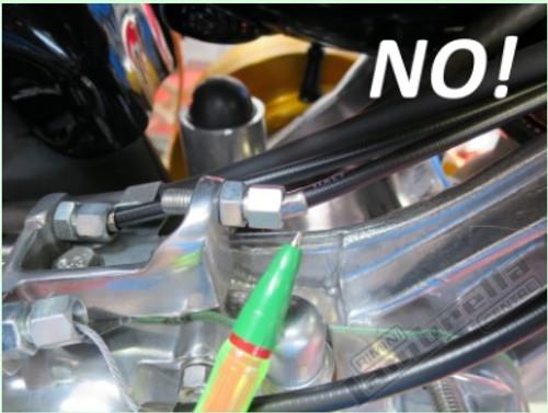 Lambretta Cable Fine Adjuster Kit Extended Casa Pro (L6-16-CPL119zx)