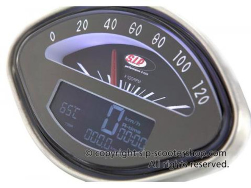 Vespa SIP Rev Counter/Speedometer - SS/GL/Sprint/GS