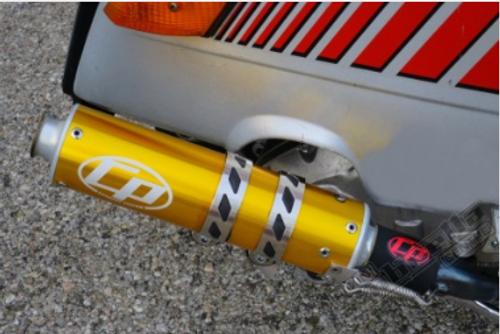 Lambretta Casa Pro Protti Exhaust Joint Sealing Rubber 32mm SSR (53-X55C32)