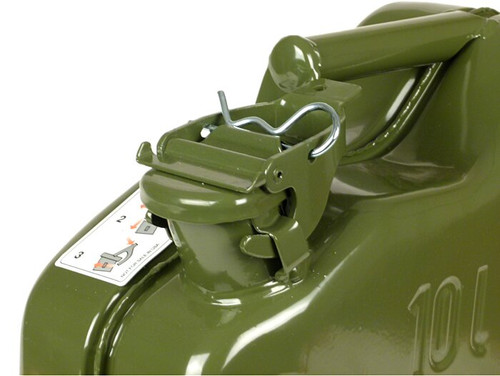 Universal Fuel Jerry Can Metal FA ITALIA Green 10L (OIL-3332496X)