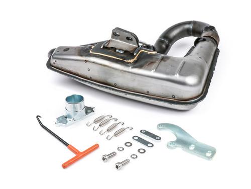 Lambretta Exhaust Clubman Big Box Sport Raw BGM (DW-BGM2105SPU)