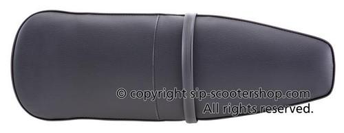 Lambretta Seat Bench HQ Dual SX/LI - Black (SW-L109577)
