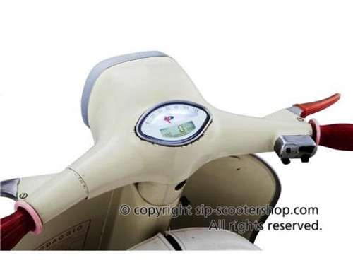 Vespa SIP Rev Counter/Speedometer - SS/GL/Sprint/GS White (DW-50000720)