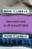 Sew On Labels - Woven