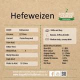 Hefeweizen - High Gravity Wort Recipe