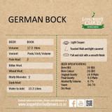 German Bock - High Gravity Wort Recipe