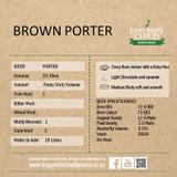 Brown Porter - High Gravity Wort Recipe