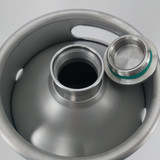 Mini Keg - 2L Stainless - Top