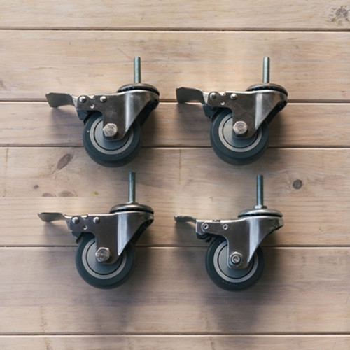 Ss HD Caster Wheels - for Unitanks / Chronicals / Brites