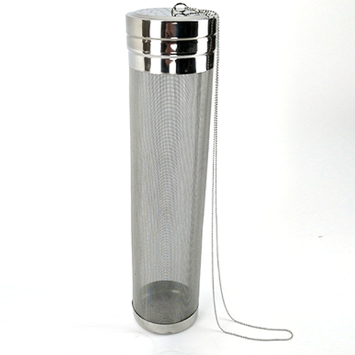 Hop Tube - Stainless Steel with Chain