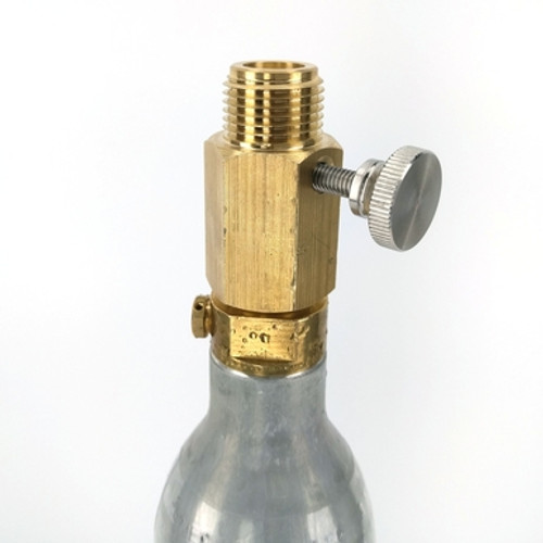 SodaStream CO2 Adapter - Deluxe With Pin Adjustment