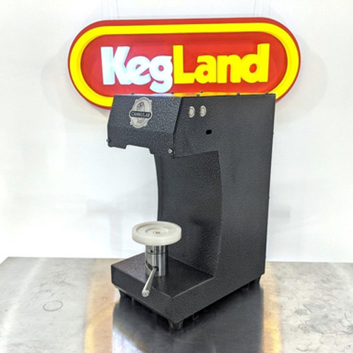 Cannular Semi-Auto Canning Machine - Bench-Top Can Seamer