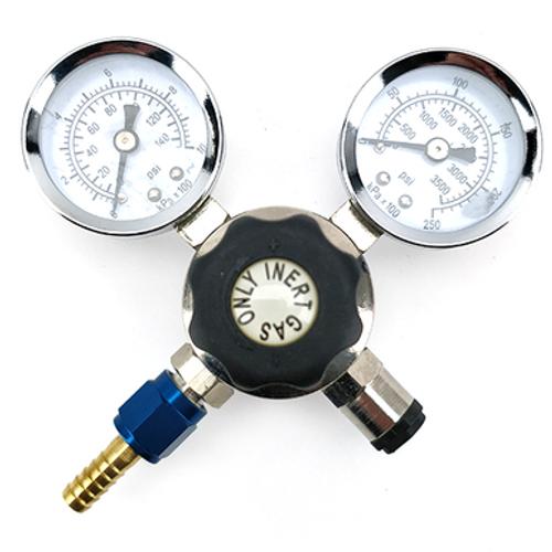 Nitrogen Gas Regulator for Disposable Cylinder - M10 Thread