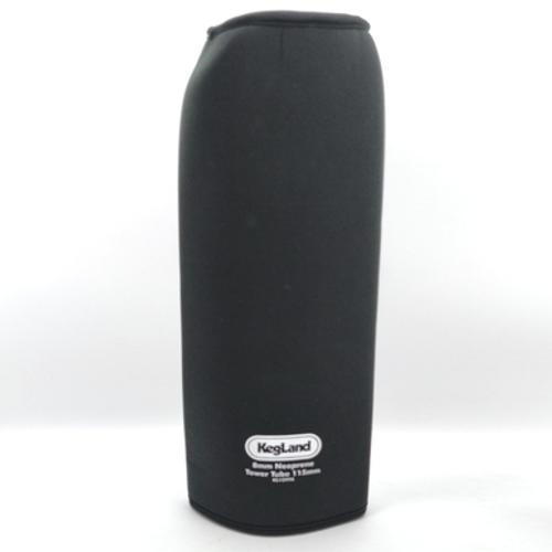 Insulating Neoprene Cover for Kegerator Tower - 115mm - 4 Tap Font