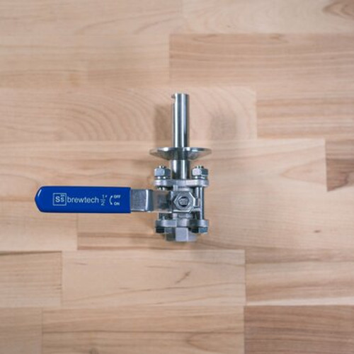 Ball Valve - Tri-Clamp with Whirlpool