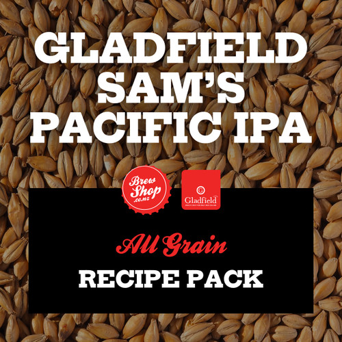 Gladfield Sam's Pacific IPA - All-Grain Recipe