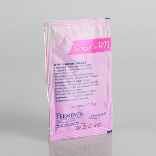 Saflager W-34/70 Yeast