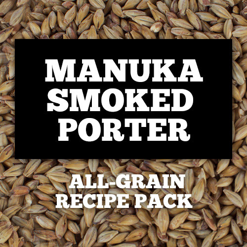 Manuka Smoked Porter - All-Grain Recipe