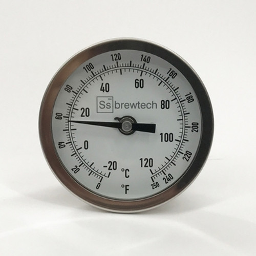 Thermometer - SS Brewtech with Bulkhead