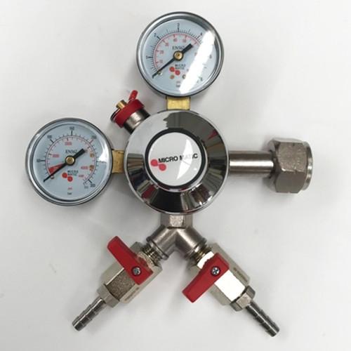 Regulator - Dual Outlet - Micromatic Premium Plus CO2