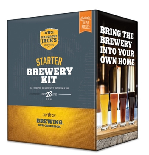 Mangrove Jack's Starter Brewery with Bottles