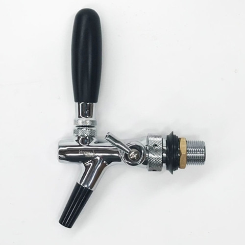 Beer Tap - European Flow Control Faucet with ABS Spout
