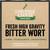 Fresh High Gravity Wort - Bitter