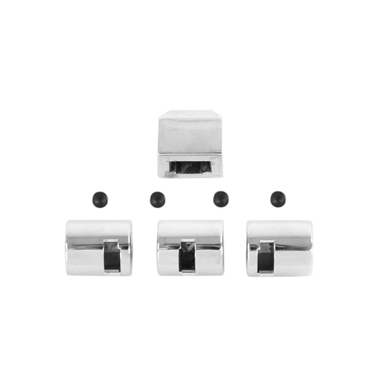 Heater Dash Knob Set Without Air Conditioning [FM-BH013BA]