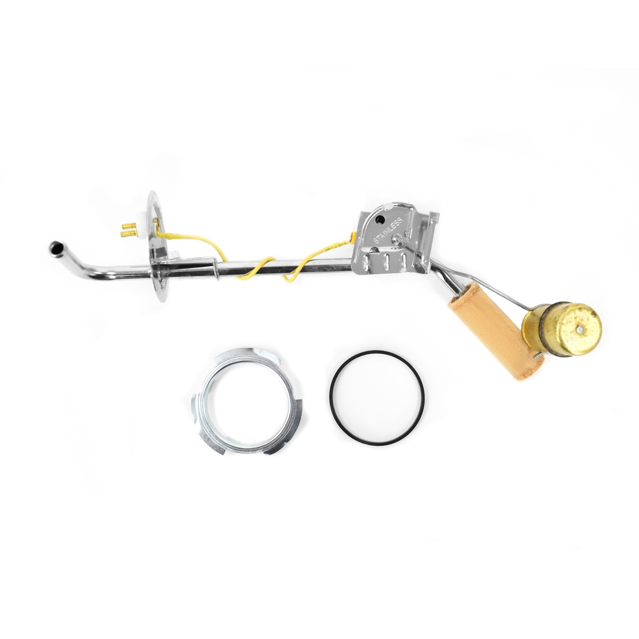 "Stainless Steel Fuel Sending Unit Side Auxiliary Tank 3/8"" [FB-EF019]"