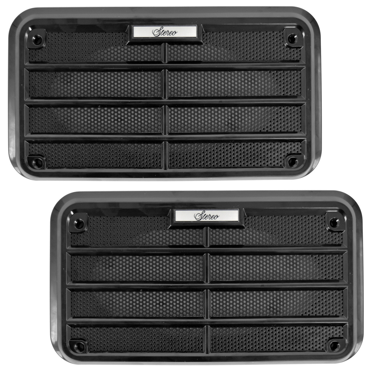 Door Speaker Grille With OE Correct Metal Mesh Pair [FM-SPK01]