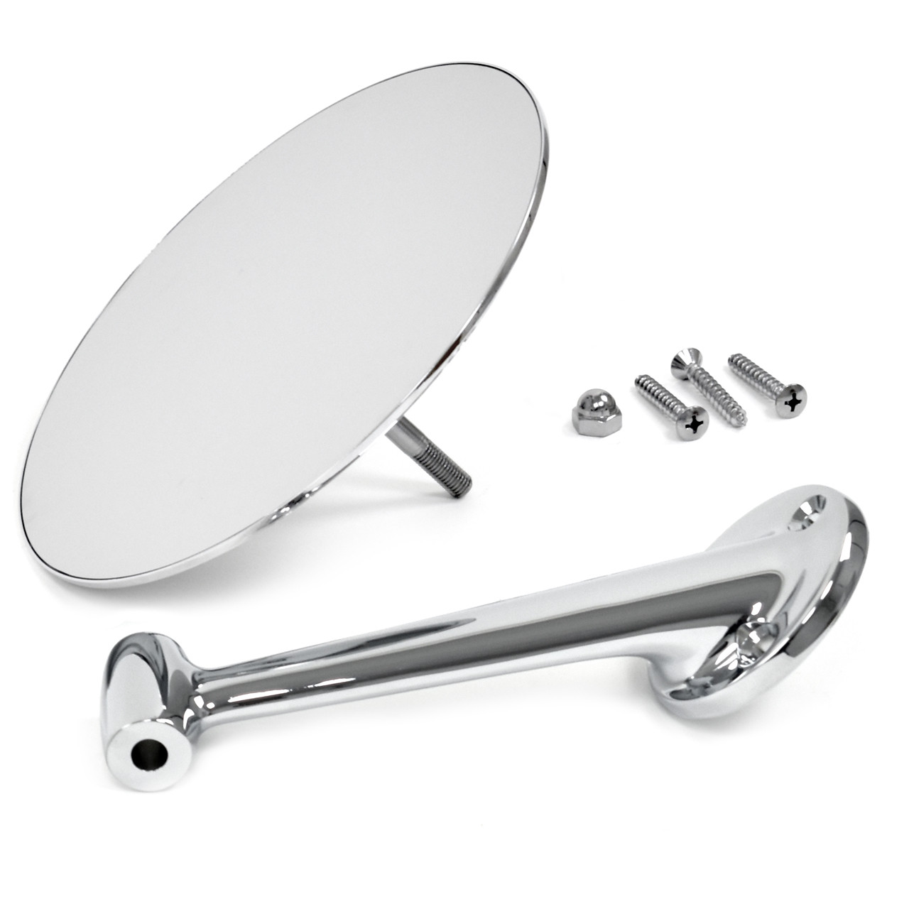 Outside Mirror 6 Inch Round Driver Side [FV-BM035]
