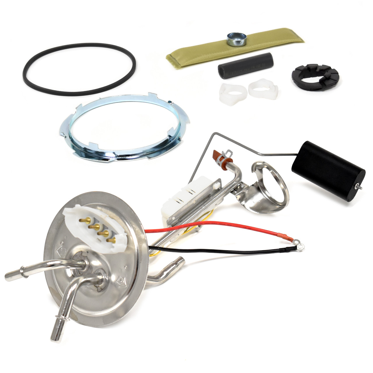 """Stainless Steel Fuel Sending Unit 3/8"""" With 5/16"""" Return For Rear Mount Tank [FP-FSU87]"""