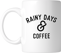 Rainy Days & Coffee Mug