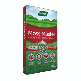 Moss Master (Moss Remover and Feed) Red Bag 400m2
