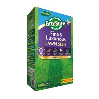 Gro-Sure Fine & Luxurious Lawn Seed 30m2