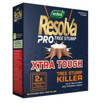Resolva Pro Xtra Tough Tree Stump Killer Liquid Sachets 2 x 100ml