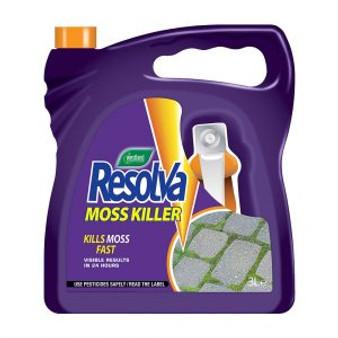 Resolva Moss Killer Ready To Use 3L