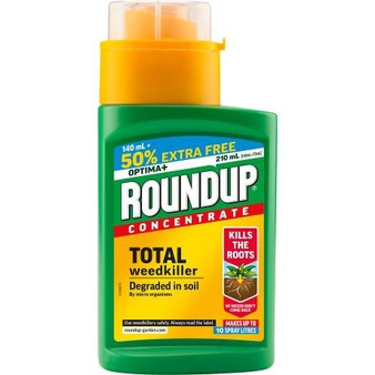 Roundup Optima+ Concentrate 140ml + 50% Extra Free