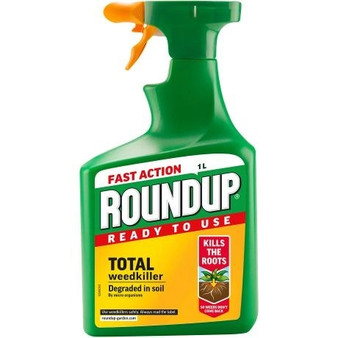 RoundUp Fast Action Ready to Use Weedkiller 1L + 20% Extra Free