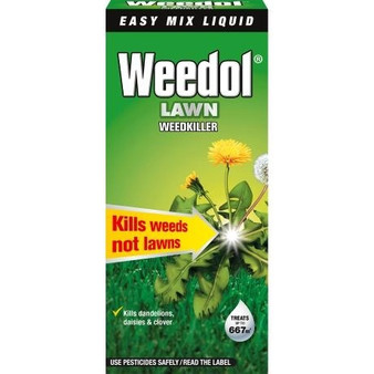 Weedol Lawn Weedkiller Liquid Concentrate