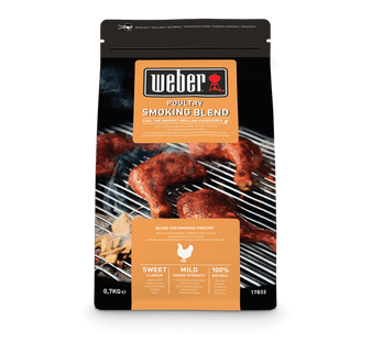 Weber Poultry Wood Chips Blend - 0.7kg (17833)