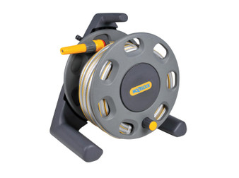 Hozelock Free Standing Hose Reel with 15m hose (2412)