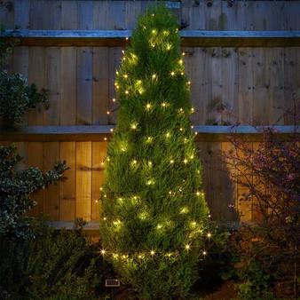 100 Warm White LEDs Solar String Lights (1060032)