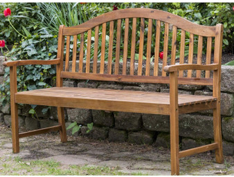 Acacia Serpentine Bench 5ft (AC1338)