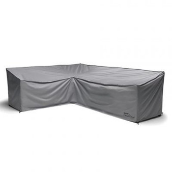 Kettler Protective Covers for Palma Corner Set (Firepit Table) Image shows right hand side corner